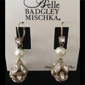 NWT Belle by Badgley Mischka Earrings